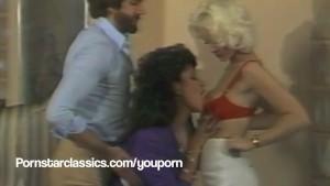 SEKA and Vanessa Del Rio classic threesome fuck party