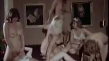Classic Lesbian Orgy