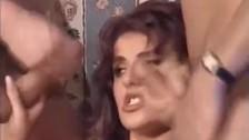 Italian slut Andrea Valente vintage threesom